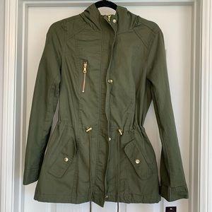Jackets & Blazers - Army Olive Utility Jacket